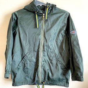 Weather Vane Sport Tech Raincoat with Hood Large